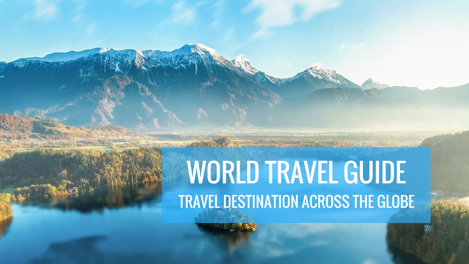 World travel guide - world tour