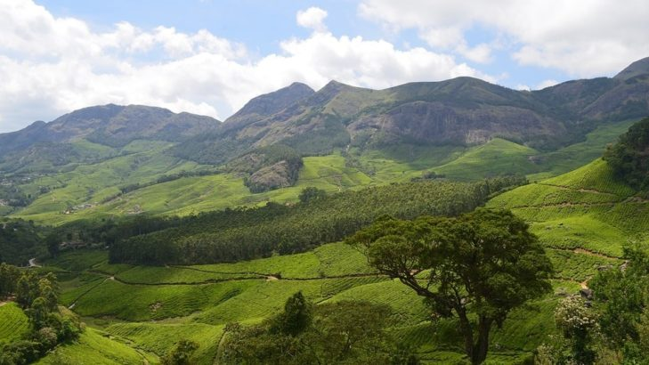 munnar honeymoon places in India