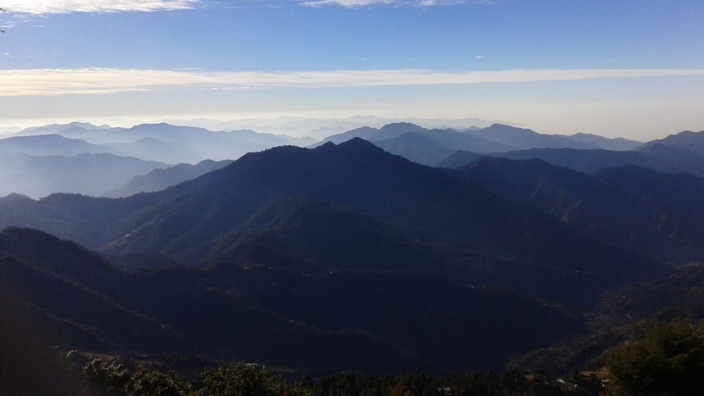 mussoorie summer vacation holidays