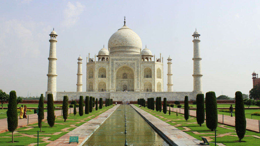 Taj Mahal Seven Wonders of the World