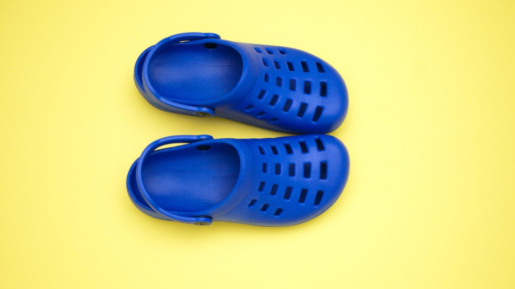Beach Travel Crocs Floaters Footwear