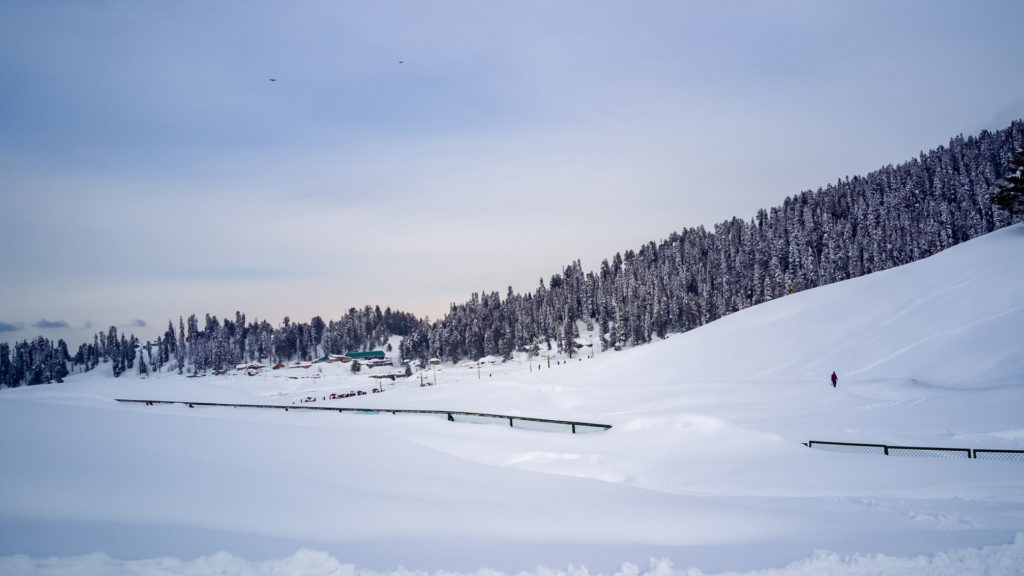 Gulmarg Skiing in India