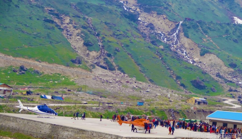 Kedarnath Helicopter Travel Experience