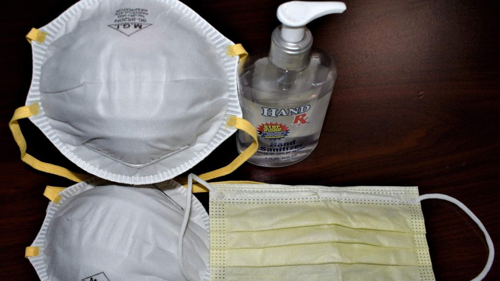 Hand Sanitizer Mask For Travellers