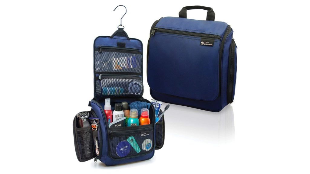 Hanging Travel Toiletry Bag Backpacking Essentials