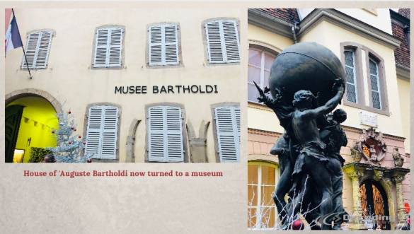 Colmar France Travelogue House of Auguste Bartholdi museum