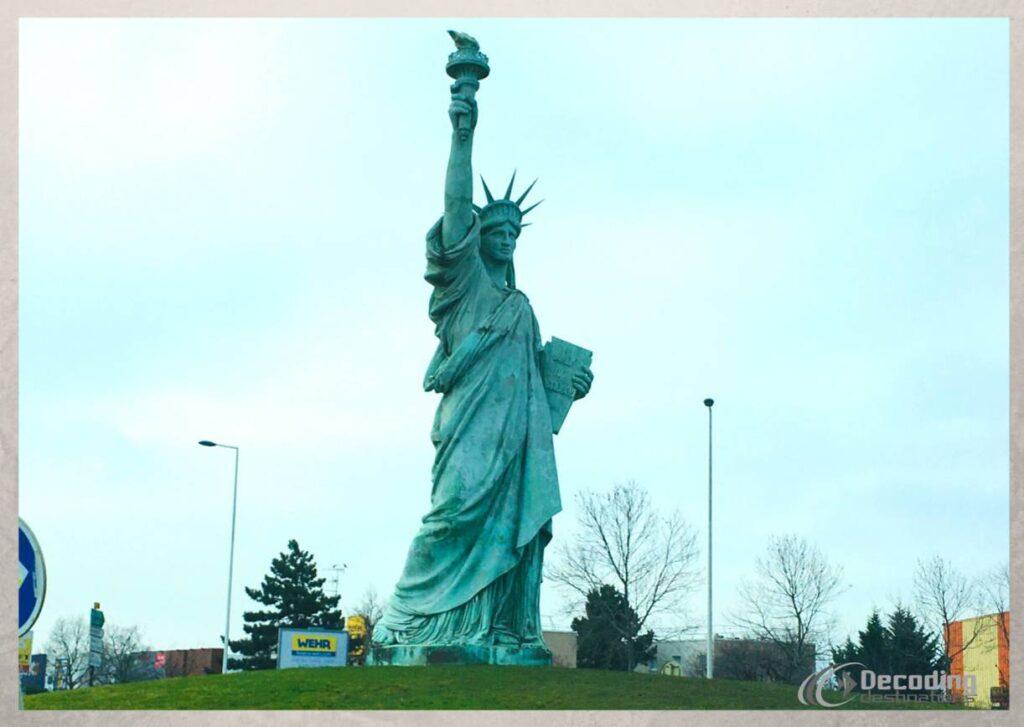Colmar Replica of The Statue of Liberty