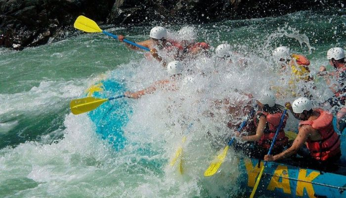 River Rafting Adventure Destinations in India