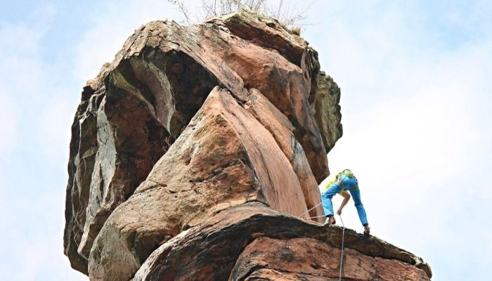 Rock Climbing in South India