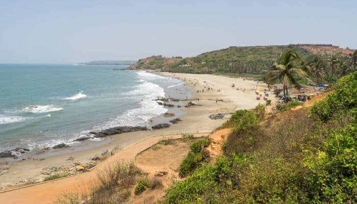 Anjuna Beach Goa Places to Visit