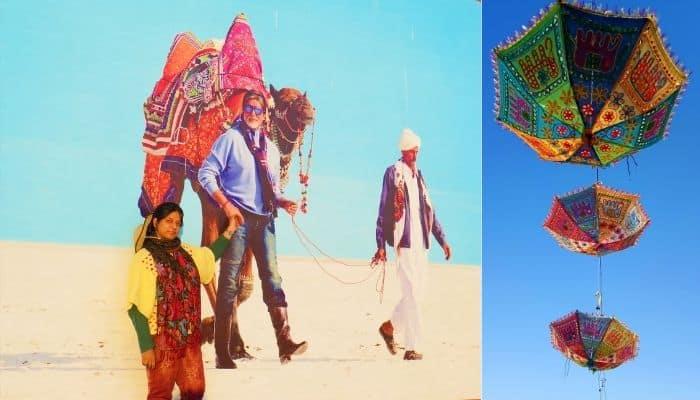 Amitabh Bachchan Rann Utsav Kutch Travelogue Gujarat Tourism