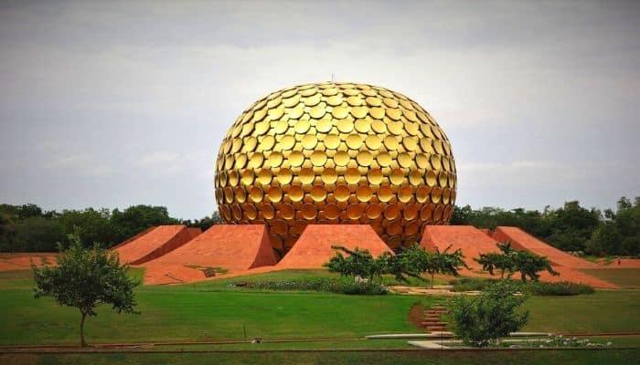 Matrimandir Auroville Places To Visit Pondicherry