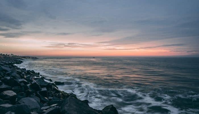 Rock Beach Pondicherry